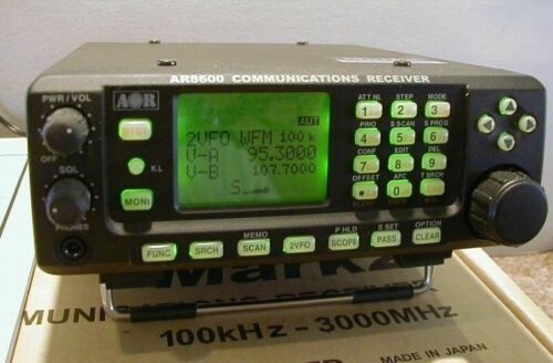NEW UNBLOCKED AOR AR-8600MK2 Communications Receiver