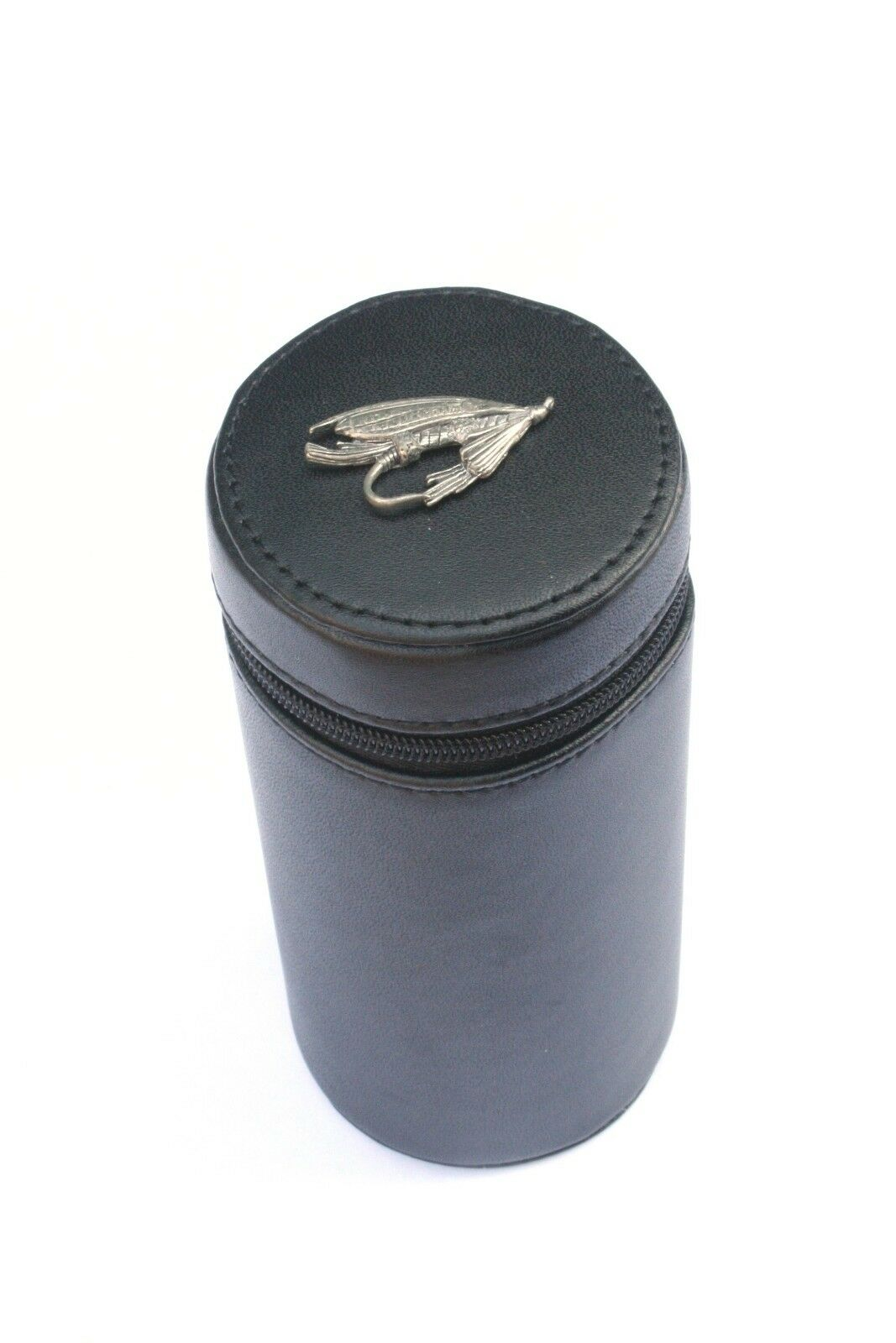 Fishing Fly Shooting Peg Position Finder Numberot Cups 1-10 Leather Case 130