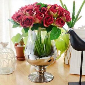 1-Bunch-9-Heads-Artifical-Silk-Flower-Bouquet-Wedding-Party-Birthday-Home-Decor