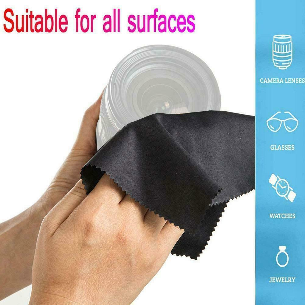 10PCS Microfiber Cleaning Cloth For Camera Lens LCD Glasses TV Phone 2021
