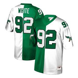 promo code e25f5 3ea37 Details about Mitchell & Ness Split Home & Away Legacy Philadelphia Eagles  Reggie White Jersey
