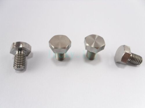 Grade 5 Titanium Bolts M6 x 10,15,20,25,30mm Length Ti Hex Head Screw Fastener