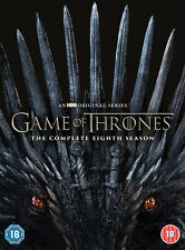 Game of Thrones: Season 8 [2019] (DVD) Emilia Clarke, Peter Dinklage