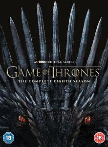 Game of Thrones Season 8 (DVD, 2019)
