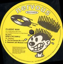CLASSIC MAN - 5th Street Orchestration / Here's The Sample - Nervous NER 20027