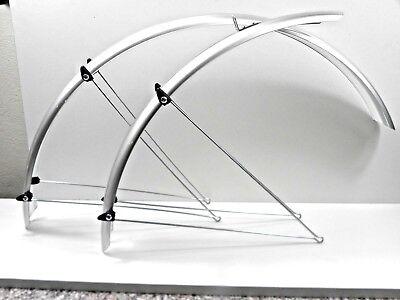 Schutzbleche 28 Breite 35mm Klemmen cristina Silber 421730200 BTA Fahrrad