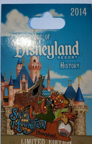 Disney DLR Piece of History Splash Mountain Brer Fox Disneyland LE1500 Pin