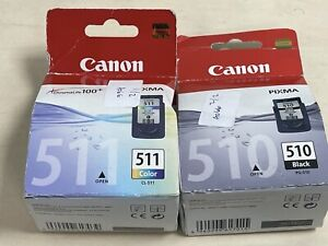 Canon-PG510-amp-CL511-Ink-Pack-for-PIXMA-MX320-New-Sealed