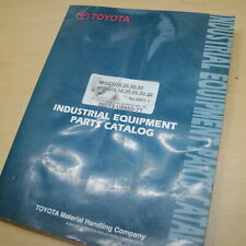 Toyota 8fgcu 8fgu 15 18 20 25 30 32 Forklift Parts Manual Book Series Catalog