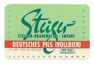 DDR-BE-Steiger-Brauerei-KG-Erfurt-Schl-Nr