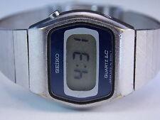 Vintage Ladies Seiko Time Corp. Quartz LC Digital Watch Model: L012- 5069