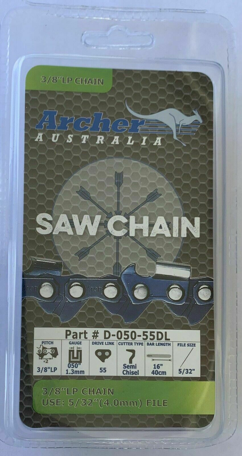 "9149 McCulloch 14"" Oregon Chain Saw Repl cc EM 16 Chain   #14A//S"