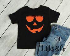 Pumpkin Face Jack O/' Lantern Halloween Costume Toddler//Infant Kids T-Shirt Gift