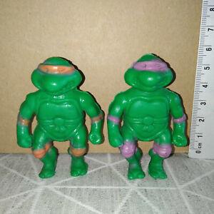 Figurine PVC vintage yolanda - tortue ninja turtles TMNT - bootleg FAKE KO