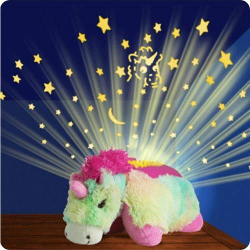 UK KIDS SOFT TOY CUDDLE PET DREAM PILLOW CUSHION /& STARRY SKY NIGHT LIGHT LITES