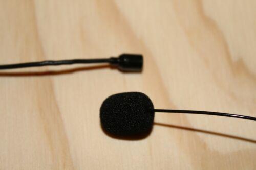6 PCS Mini Black Foam Cover Windscreen Windshield for Headset Lapel Microphones