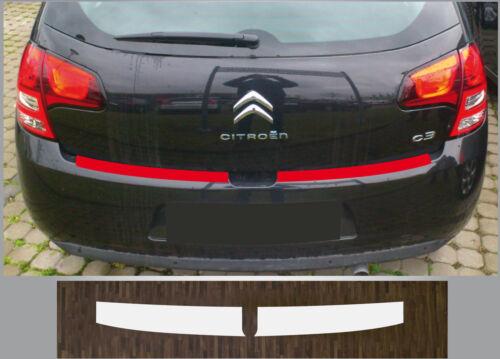 Clear Protective Foil Bumper Protection Transparent Citroen C3 2009-2017