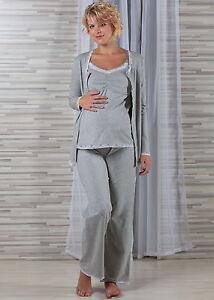Umstandsschlafanzug-Stillschlafanzug-gw-3-Teile-36-38-40-NEU