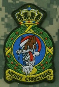 USAF EUROPE F-15C 32ND TFS WOLFHOUNDS INSIGNIA SOESTERBERG CHRISTMAS SPECIAL
