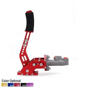 Aluminum-Universal-Hydraulic-Drift-E-Brake-Racing-Handbrake-Lever-For-Honda-RED
