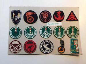 Ärmel - Tätigkeitsabzeichen 15 Stück Polen Polnische Streitkräfte Regiment
