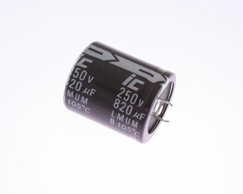Lot of 5 IC Illinois Capacitor Electrolytic 47uF 63V 8x12mm