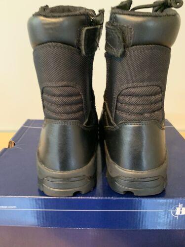 Bates Boots Ultra Light Side Zip E02261 Extra Wide 3E