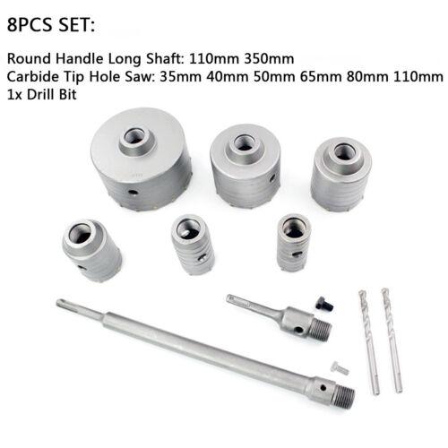 30-110 mm mur Hammer Drill Bit Cutter trou scie sds Puls pour béton de ciment Outil