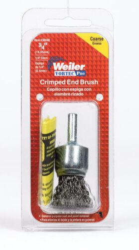 Coarse  Wire Wheel Brush  22000 rpm Dia Weiler  3//4 in