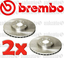 Set of 2 Brembo UV Coated OE Replacement Front Disc Brake Rotor/'s Camry 4Cyl