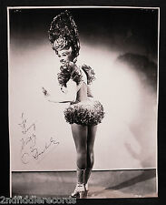 BETTY GRABLE-Mega Rare 10x13 Autographed & Inscribed Photograph-Sexy Pinup-Diva
