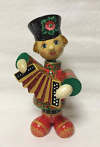 Russian Matryoshka - Handmade Linden Wood Doll - Boy Vanya ...