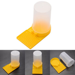 Honey-Bee-Beehive-Entrance-Hive-Drinking-Beekeeping-Equipment-Water-Feeder-Tools