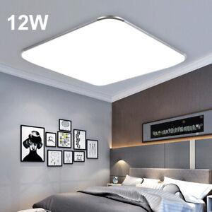 Details zu 9W LED Deckenleuchte Deckenlampe Panel Badlampe Wohnzimmer  Küche Kaltweiß