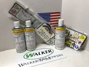 Details about Walker Mower Paint and Decal KIT