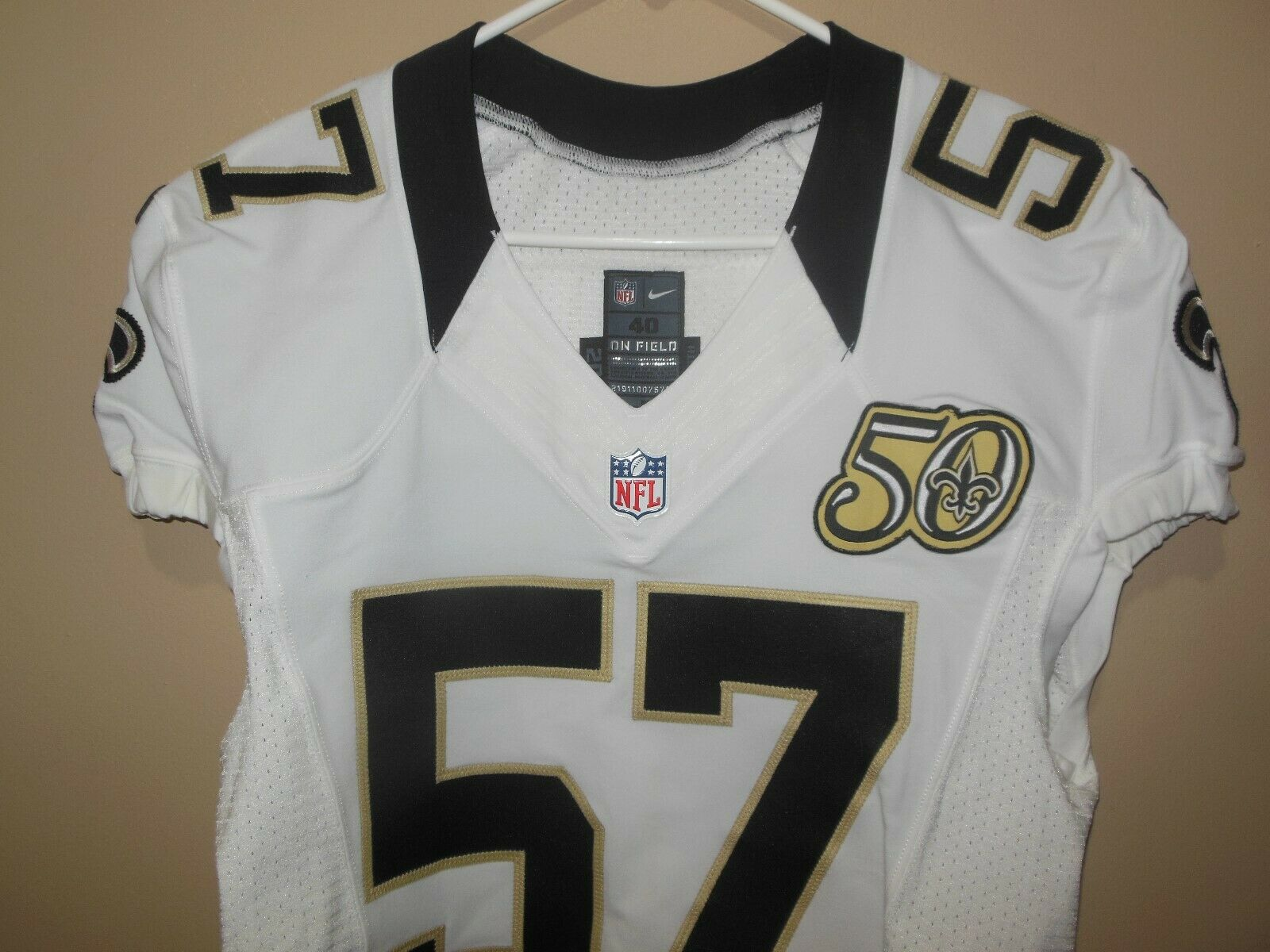 New Orleans Saints 2016 Nfl Football Game Used Jersey Ebay