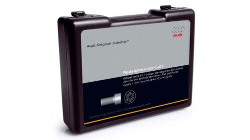 ORIGINALE Audi q7 4l ANTIFURTO radsicherung CERCHI Castello 4l0071455-NUOVO