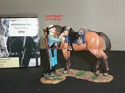 KING AND COUNTRY CW44 AMERICAN CIVIL WAR PREPARE TO MOUNT METAL TOY SOLDIER