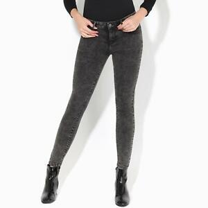 Womens-Ladies-Stretch-Jeans-Denim-Slim-Fit-Casual-Grey-Black-Skinny-Work-Pants