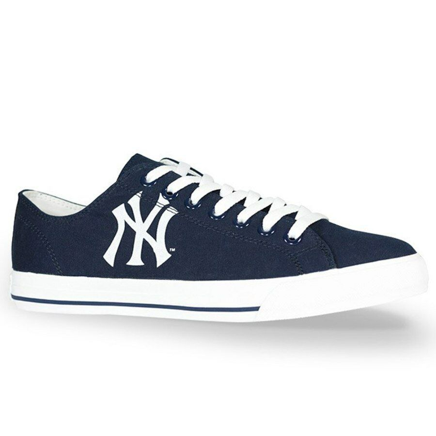 NY Yankees Baseball MLB Row One Victory Men Women Kids Sneakers Low Top shoes