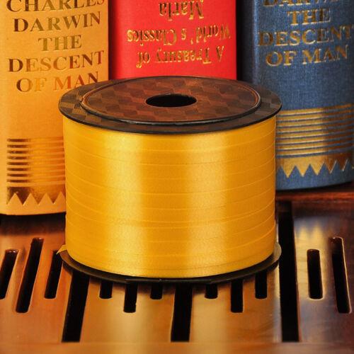 Rodillo de la cinta de 1PC 100 YD que se encrespa Globo Fiesta Festival Hágalo usted mismo Arte Arte Decoración approx. 91.44 m