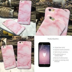 1c64200bed UK Pink Marble Rock Anti-Scratch Phone Case Cover For iPhone 6 6s 7 ...