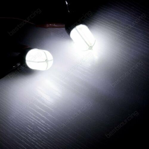 2x 580 W21W 582 W21//5W t Bulb COB LED Sidelight Reverse Indicator Daytime Light