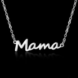 Elegant-Stainless-Steel-MAMA-Child-Love-Pendant-Necklace-Mother-039-s-Day-Gifts-Hot