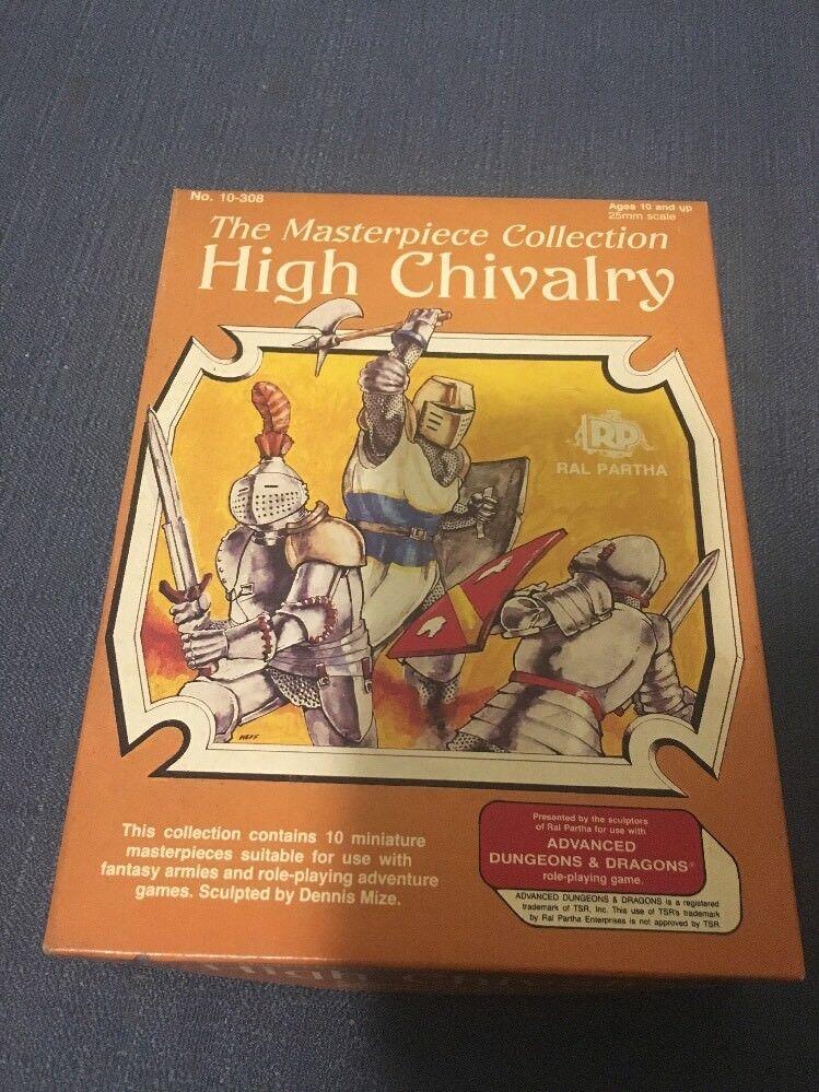 autorización RAL PARTHA FANTASY FANTASY FANTASY MINI alto caballería (obra maestra Colección) caja ex  a la venta