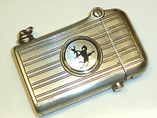 "THORENS LIGHTER ""POTTER & ROGERS"" W. ALPACCA SILVER CASE -1920 -SWISS-MADE- RARE"