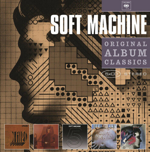 Soft Machine : Original Album Classics CD Box Set 5 discs (2010) ***NEW***