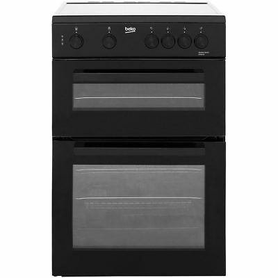Beko KTC611K Free Standing Electric Cooker with Ceramic Hob 60cm Black New