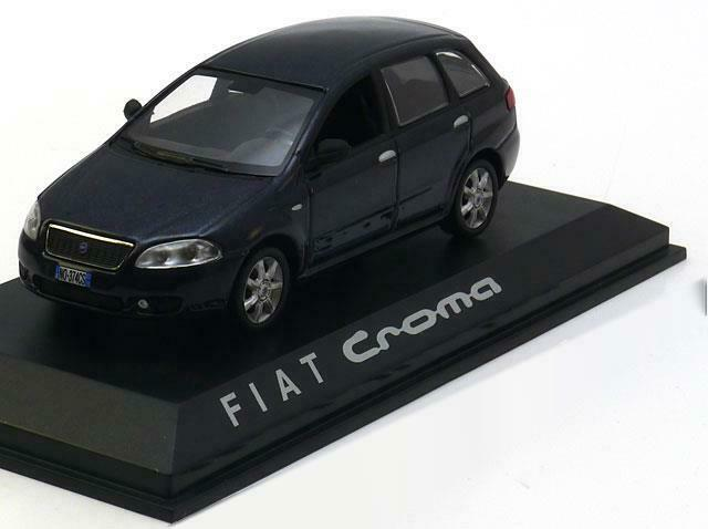 1:43 Norev Fiat Croma estate 2005 darkblue-metallic