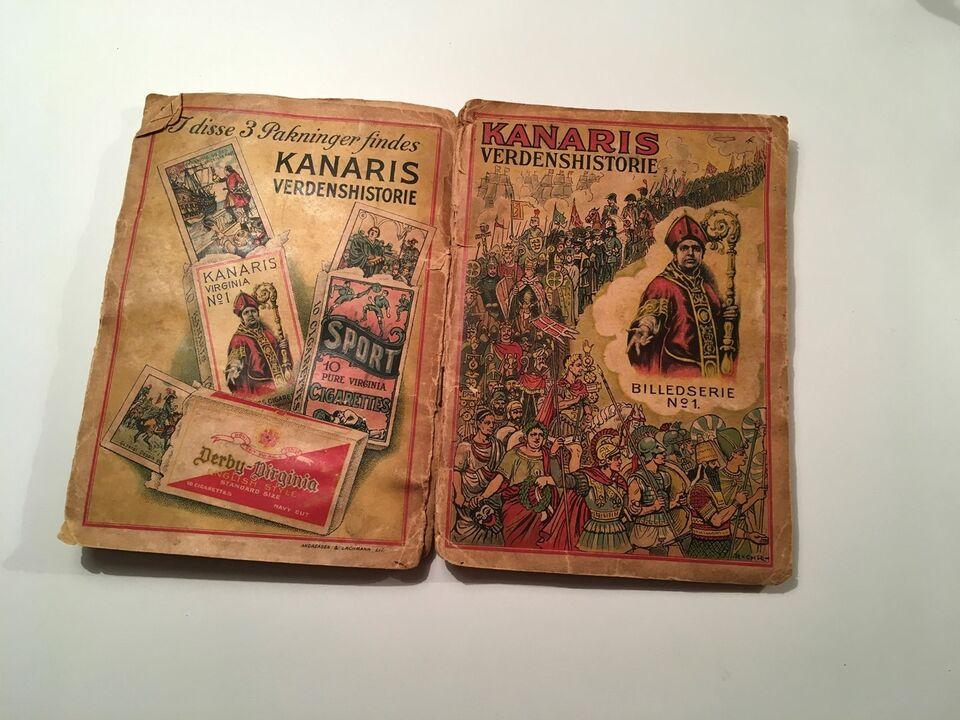 Samlekort, Kanaris verdenshistorie